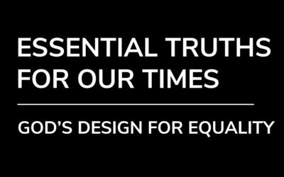 God's Design For Equality