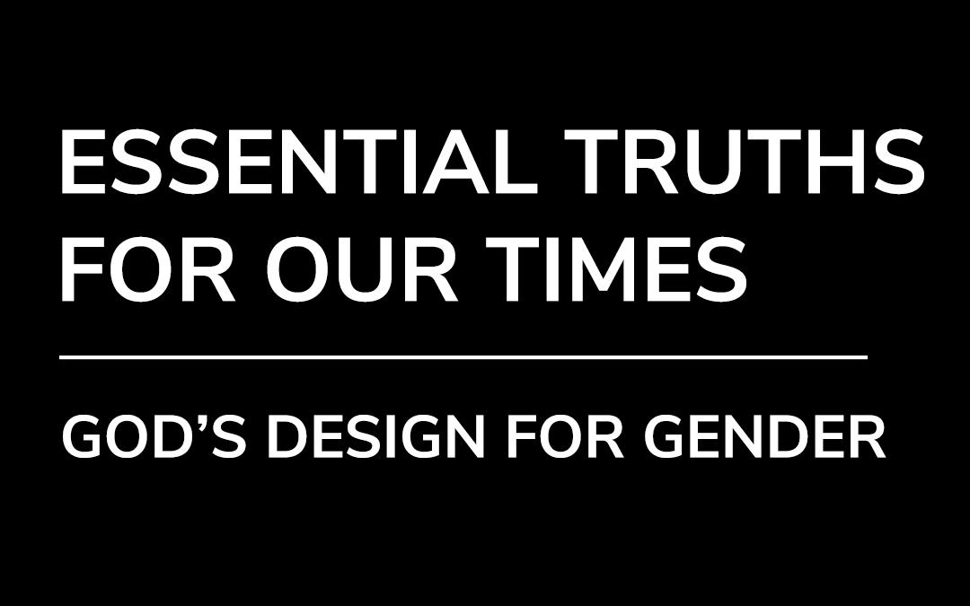 God's Design For Gender